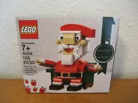 LEGO Seasonal Christmas - SANTA CLAUS - 40206 - Holiday set New & Sealed