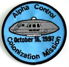 Lost in Space  Alpha Control  Uniform Patch  Aufnäher