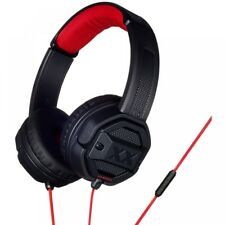 JVC HASR50XB Xtreme Xplosives on Ear Headphones With Remote & Mic Black