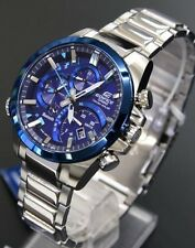 CASIO 2017 Edifice Time Traveler EQB-501DB-2AJF Smartphone Link Men's Watch New