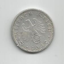 Pièce 50 reichspfenning 1943 A très bon état Allemagne aluminium Deutch  monnaie