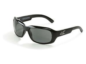KAENON Porter Polarized Sunglasses Black Frames / Grey G12 Lenses ITALY