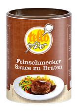 tellofix Feinschmecker Sauce zu Braten 470 g, sämige dunkle Bratensoße