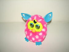 Hasbro Electronic Interactive Pet Furby Boom Pink White Polka Dots Teal 2012 A