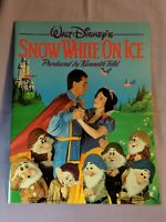 Walt Disney's Snow White On Ice Souvenir Program (1986) With Stickers Inside