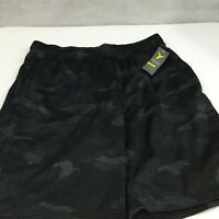 Old Navy Gym Shorts Sz L Black Breathability Workout Basketball Running Athletic