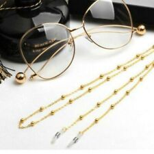 Reading Glasses Chain For Women Metal Sunglasses Cords Beaded Eyeglass Lanyard
