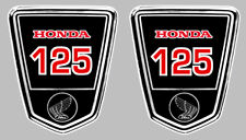 DAX 125 AUTOCOLLANTS X 2 STICKERS 9,5cmx8cm MOTO BIKER ENDURO TRAIL (HA132)
