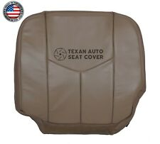 2005 2006 Chevy Avalanche 1500 2500 LT, LS Driver Bottom Vinyl Seat Cover Tan