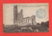 ABLAIN ST NAZAIRE après la guerre - Vue générale des ruines de l'église  (J7678)