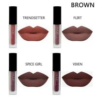 4 pcs/Set Women Matte Mini Lip Gloss Waterproof Cosmetic Makeup Liquid Lipstick
