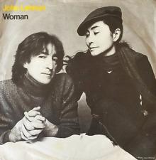 "JOHN LENNON - Woman (7"") (VG-/VG-)"