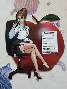 hot for teacher sticker