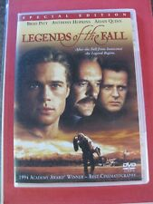 LEGENDS OF THE FALL  DVD BRAD PITT/ ANTHONY HOPKINS/AIDAN QUINN