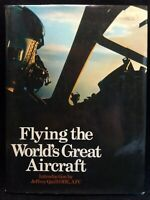 Flying The World's Great Aircraft Hardcover Book by Anthony Robinson HBDJ