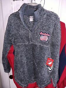 New England Revolution sleepwear Pullover Shirt Major League Soccer MLS Ladies M