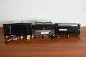 BMW x5 e53 OEM car audio control system + DVD GPS navigation + CD changer