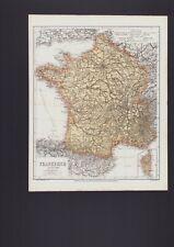 Landkarte map 1867: Frankreich. France
