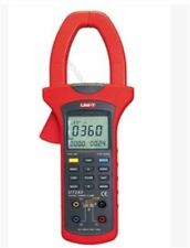 UNI-T UT243 triphasé True RMS analyse harmonique Power Clamp Meter USB données oi