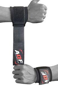 AQF Wrist Brace Support Gym Straps Weight Lifting wrap