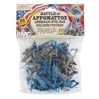 BMC Civil War Battle of Appomattox Bagged Playset - 26 Pieces 54mm Scale