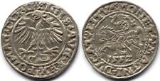 1552 LITHUANIA POLAND Half-Groat of Sigismund August. NGC MS62! RARER YEAR!!!