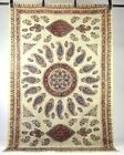 """Vintage Handmade Tapestry Persian Textile Art Cotton Floral Paisley 52"""" x 78"""""""