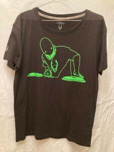 Cyberdog London Men's T-shirt,size M,D.J's,Rave,Glow