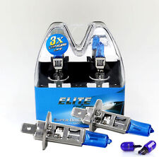H1 55w SUPER WHITE XENON Upgrade HID Head light Bulbs Dip Main Beam ELITE C