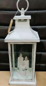 ' KISS ME UNDER the LIGHT of THOUSAND STARS ' Led Lantern 3 Candle Holder Deco..