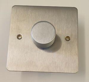 MK Edge  K14521 RP BSS 2 Way 300w Single Intellegent Dimmer Brushed steel