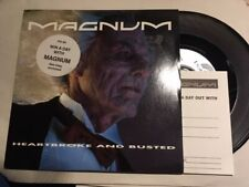 """Magnum - Heartbroke And Busted vinyl 7"""""""