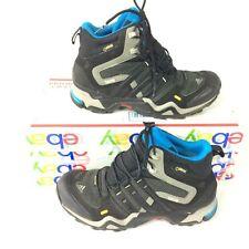 Mens 7.5 ADIDAS TERREX FAST X HIGH Gore Tex G97925 Boots Size Hiking Black Blue