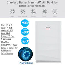 Large Room Air Purifier for Allergies Dust Medical Grade Hepa Filter Air Cleaner