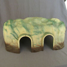 346E Vintage Jouef 689 Tunnel with 2 Arcades Ho 1:87 Decor Track