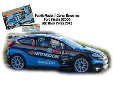 DECALS 1/43 FORD FIESTA S2000 - #6 P.FLODIN - RALLYE IRC D'YPRES 2012- NCM057