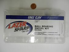 Lazer Ball Bearing Swivel Kit; Assorted Sizes, 96 ct, Eagle Claw  #RX-BBNKLKIT