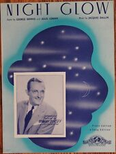 Night Glow, Tommy Dorsey Vintage Sheet Music, Hard To Find!