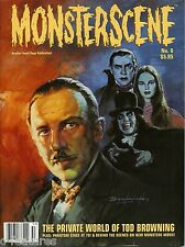 MONSTERSCENE #6: TOD BROWNING Basil Gogos PHANTOM OF THE OPERA The Munsters RARE