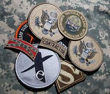 US EMBASSY BAGHDAD/KABUL STATE DEPT WPS CONTRACTOR ELITE TEAM VELCRO 9-ITEM SET