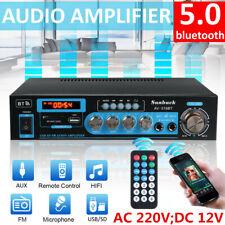 2000W bluetooth HiFi Verstärker Auto Vollverstärker 2 Kanal Stereo Audio FM