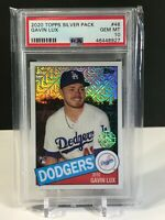 2020 Topps Gavin Lux Silver Pack RC #48 PSA 10 Gem Mint Rookie Baseball Card