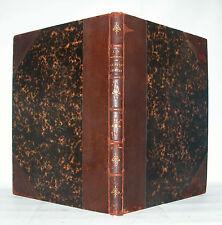LAPPARENT Le Pays de Bray 4 cartes géologiques hydrographiques boutonnière 1879