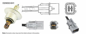 NGK NTK Oxygen Lambda Sensor OZA632-KH1 fits Kia Magentis 2.4 (MG), 2.7 (MG)