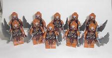 LEGO Hobbit - 10x Gundabad Ork mit Schwert - Figur Minifig Orc Armee Army 79017