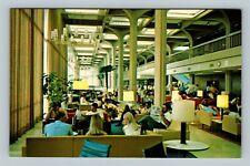 University Union Lounge View Students Baton Rouge Louisiana Vintage Postcard