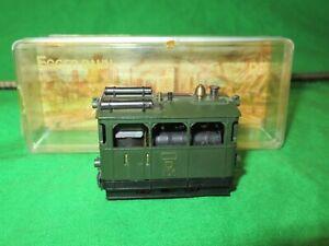 "Egger Bahn HOe 009 P17 ""Fiery Elias"" Steam Tram Engine good boxed"