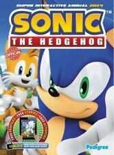 Sonic The Hedgehog Super Interactive Annual 2014 Pedigree Books Hardcover Used