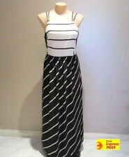 Cocktail Striped Maxi Dresses for Women