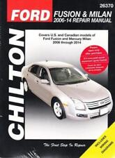 2006-2014 Ford Fusion Mercury Milan Chiltons Repair Service Workshop Manual 2274